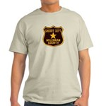 McLennan County Sheriff Light T-Shirt
