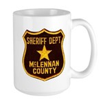 McLennan County Sheriff Large Mug