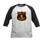McLennan County Sheriff Kids Baseball Jersey
