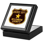 McLennan County Sheriff Keepsake Box