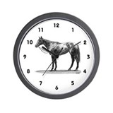 "Thoroughbred ""Ruffian"" Wall Clock"