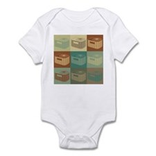 HVAC Pop Art Infant Bodysuit