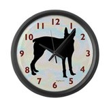 McNab Dog Large Wall Clock