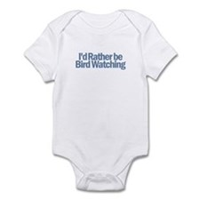 I'd Rather be Bird Watching Infant Bodysuit