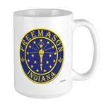 Indiana Masons Large Mug