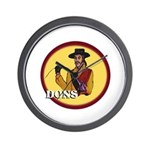 Dons of Dominguez Wall Clock