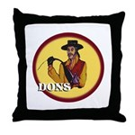 Dons of Dominguez Throw Pillow