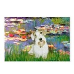 Lilies (#2)/Sealyham L2 Postcards (Package of 8)