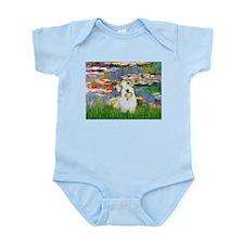 Lilies (#2)/Sealyham L2 Infant Bodysuit