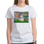 Lilies (#2)/Sealyham L2 Women's T-Shirt