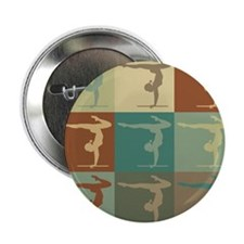 "Gymnastics Pop Art 2.25"" Button (100 pack)"