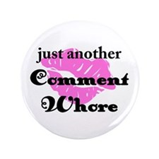 "Cute Mommy blogs 3.5"" Button (100 pack)"