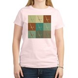 Gliding Pop Art T-Shirt