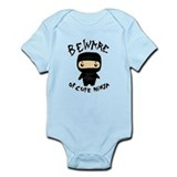 Cute Ninja Infant Bodysuit