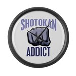 Shotokan Addict Large Wall Clock