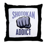 Shotokan Addict Throw Pillow