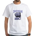 Shotokan Addict White T-Shirt