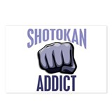 Shotokan Addict Postcards (Package of 8)