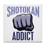 Shotokan Addict Tile Coaster