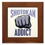 Shotokan Addict Framed Tile