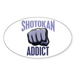 Shotokan Addict Oval Sticker (50 pk)