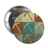 "Geology Pop Art 2.25"" Button"