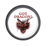 Got Dragon? Wall Clock