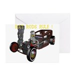 Rat Rods Rule! Greeting Cards (Pk of 10)