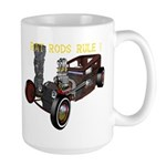 Rat Rods Rule! Large Mug