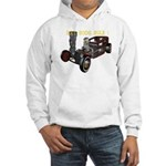 Rat Rods Rule! Hooded Sweatshirt