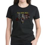 Rat Rods Rule! Women's Dark T-Shirt