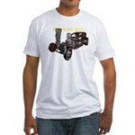 Rat Rods Rule! Fitted T-Shirt