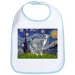 Starry Night/Italian Greyhoun Bib