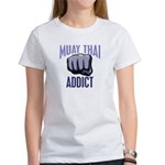 Muay Thai Addict Women's T-Shirt