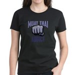 Muay Thai Addict Women's Dark T-Shirt