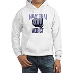 Muay Thai Addict Hooded Sweatshirt