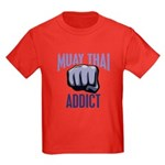 Muay Thai Addict Kids Dark T-Shirt