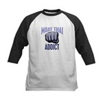 Muay Thai Addict Kids Baseball Jersey