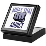 Muay Thai Addict Keepsake Box