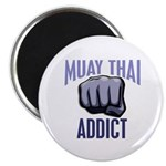 Muay Thai Addict Magnet