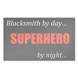 Blacksmith Gift Rectangle Bumper Stickers
