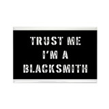 Blacksmith Gift Rectangle Magnet (100 pack)