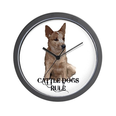 Cattle Dog (ACD) Wall Clock