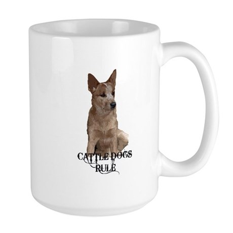Cattle Dog (ACD) Large Mug