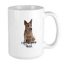 Cattle Dogs Rule Mug