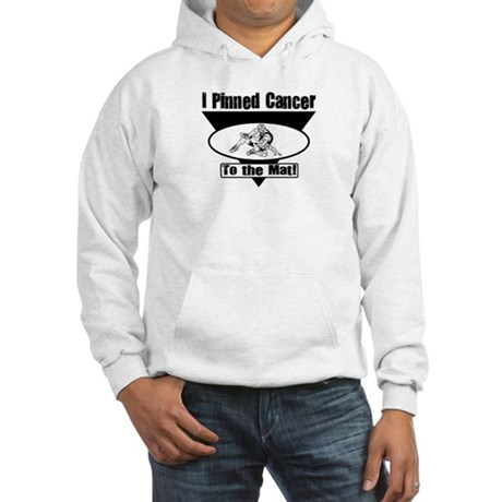 I Pinned Cancer Hooded Sweatshirt