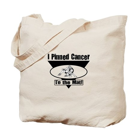 I Pinned Cancer Tote Bag