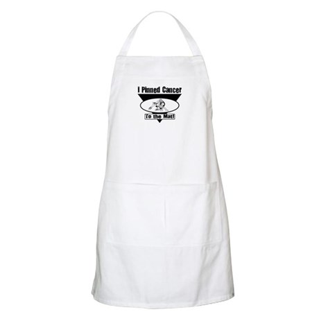 I Pinned Cancer BBQ Apron