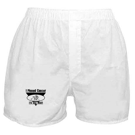I Pinned Cancer Boxer Shorts
