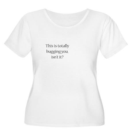 Off Center Women's Plus Size Scoop Neck T-Shirt